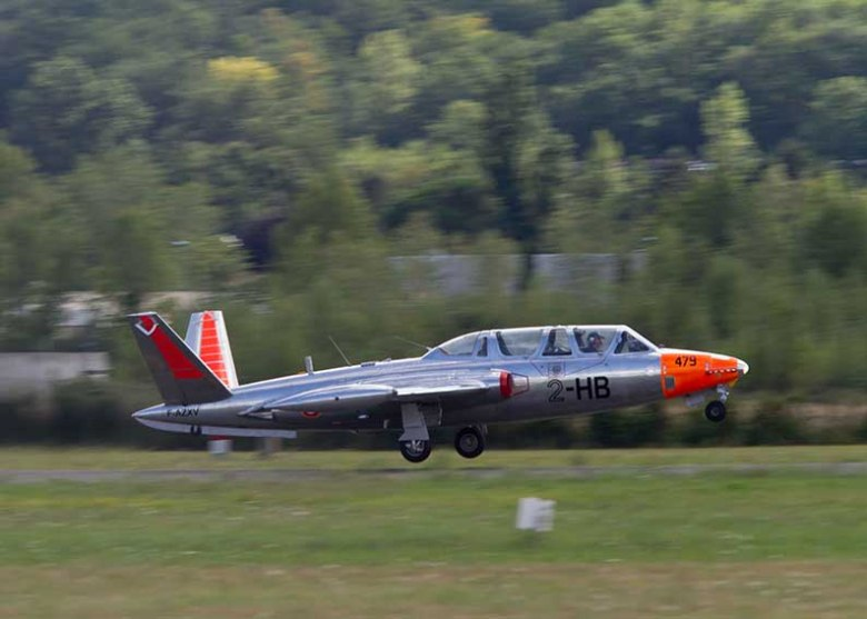Le Fouga Magister CM 170 ©photo Patrick Clermont