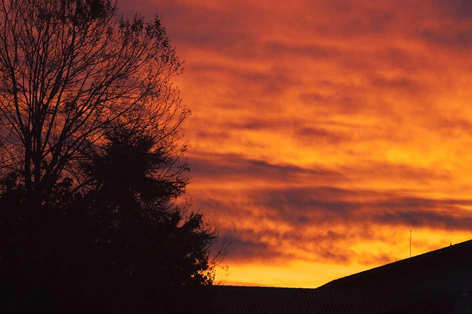 photo semaine 43- Lever de soleil à Agen