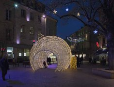 photo semaine50 illumination de noël à Agen
