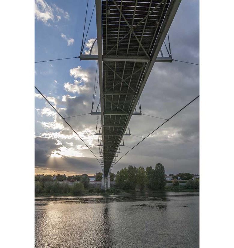 La Passerelle sur la Garonne à Agen