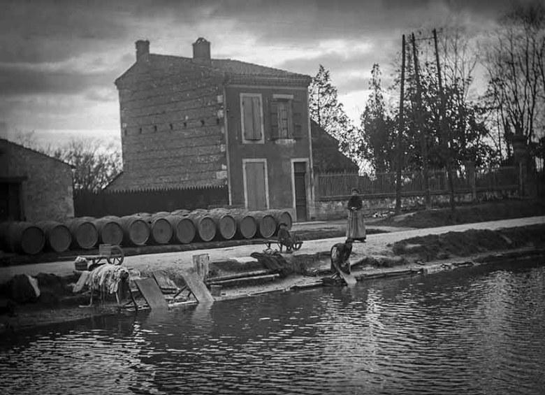 canal latéral à la garonne en 1913