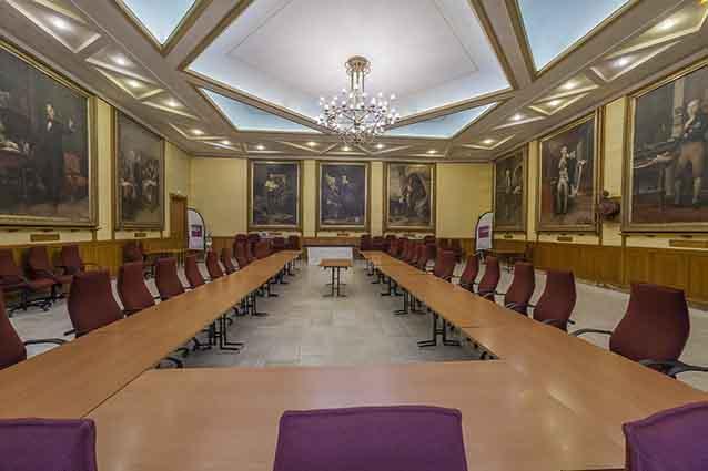La salle illustres de la Mairie d'Agen