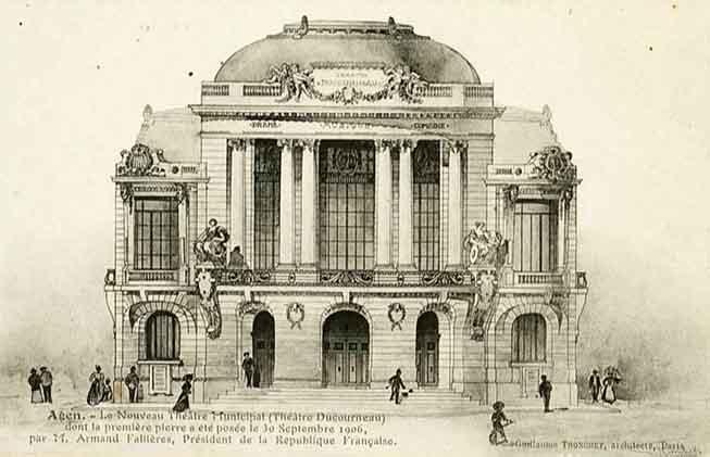 Agen-Le-Nouveau-Théâtre-Municipal-Ducourneau-dont-la-première-pierre-a-été-posée-par-le-30-septembre-1906-par-M.-Armand-Fallières-Président-de-la-République-Française-Guillaume-Tronchet-architecte.jpg