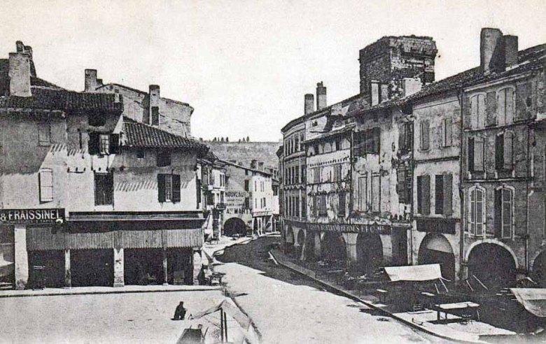 Vieil-Agen Tour Saint-Etienne et Corniéres en 1880