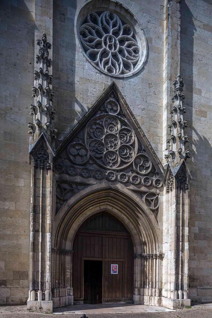 Cathédrale Saint-Caprais Agen-Portail Sud