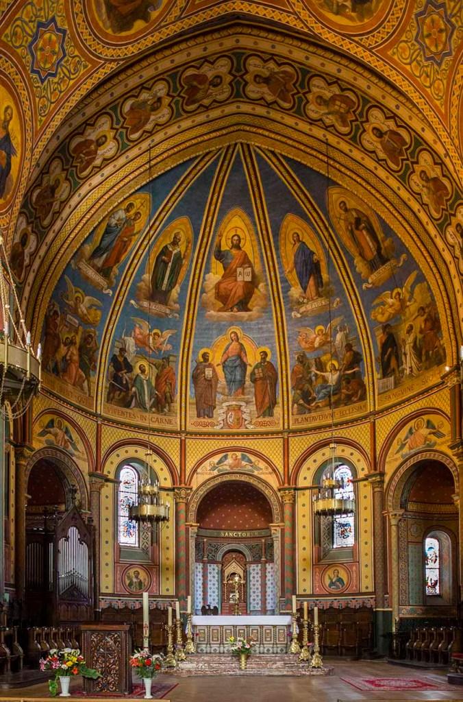 Cathédrale Saint-Caprais Autel - Choeur