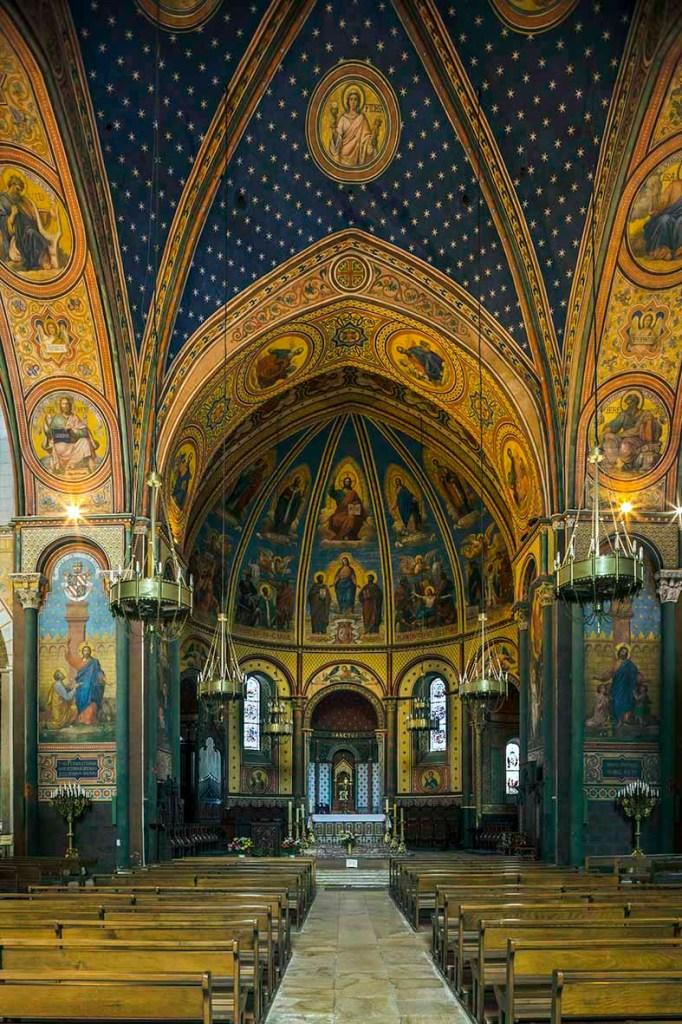 Cathédrale Saint-Caprais- Vue de l' intérieur