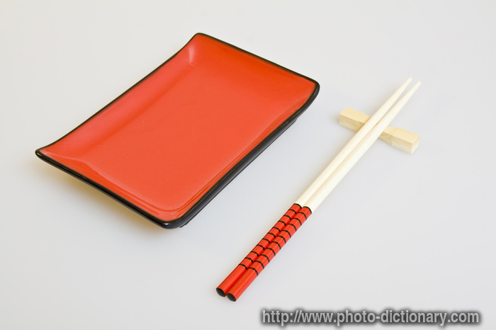 sushi accessories  photopicture definition at Photo Dictionary  sushi accessories word and