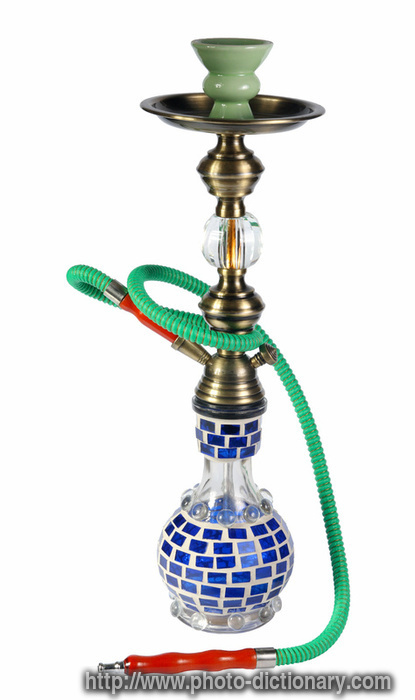hookah  photopicture definition at Photo Dictionary