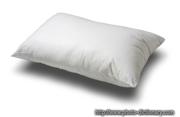 pillow  photopicture definition at Photo Dictionary
