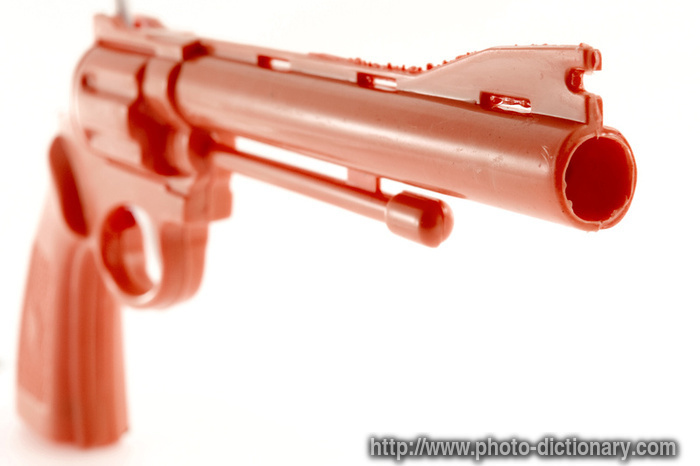 plastic gun  photopicture definition at Photo Dictionary