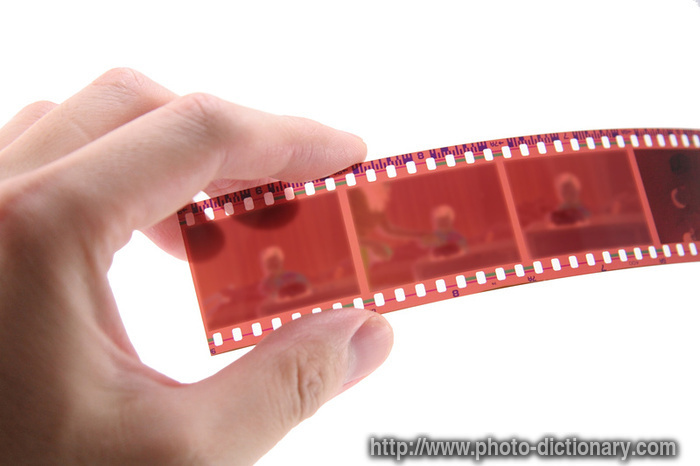 35mm film  photopicture definition at Photo Dictionary