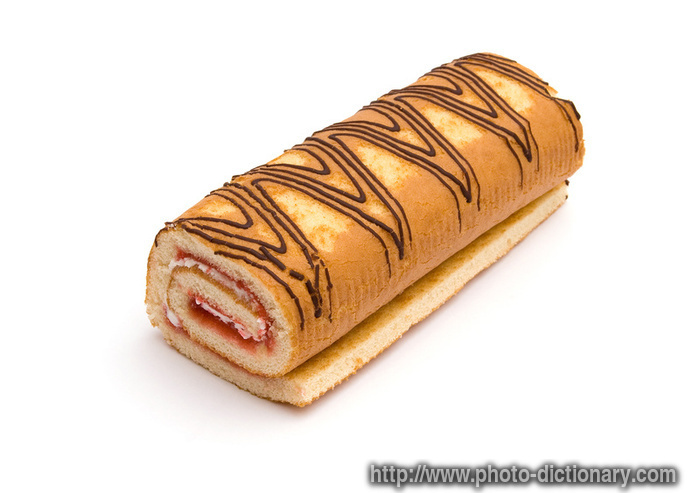 swiss roll  photopicture definition at Photo Dictionary