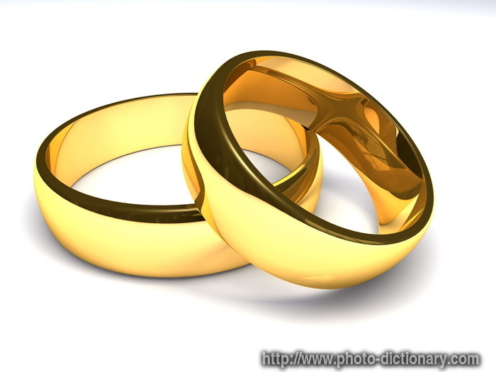 golden rings  photopicture definition at Photo