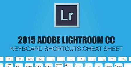 Ligtroom keyboard shortcuts cheat sheet