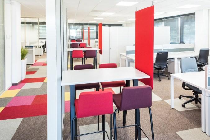 architecture intérieur bureau open space