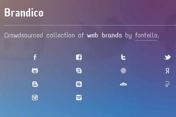 We Love Icon Fonts