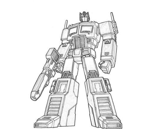 dessin à imprimer: Dessin A Imprimer Optimus Prime