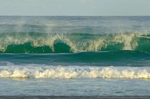 Vagues, océan Atlantique : voilà l'été