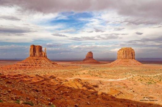 Monument Valley Navajo Tribal Park, Utah & Arizona, USA
