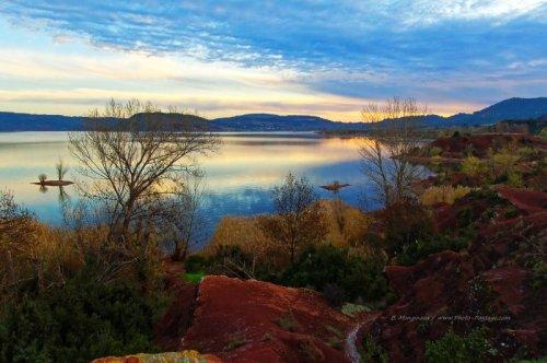 Photo du lac du Salagou