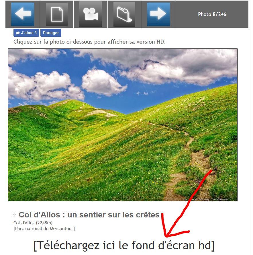 foto de Astuce : Comment mettre les photos en fond d'écran sur mon ...