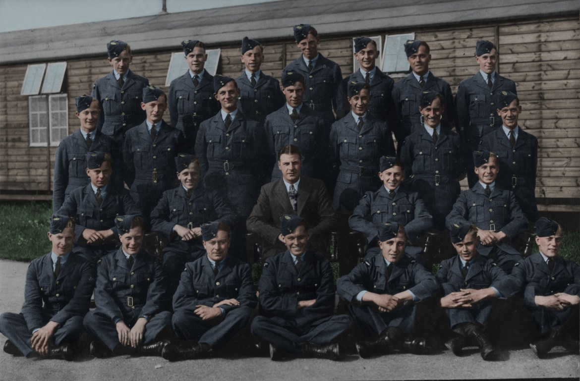 RAF Photo Restoration and Colourisation