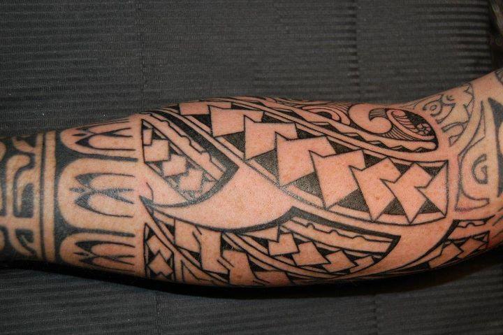 foto de Tatouage Avant Bras Maorie Homme