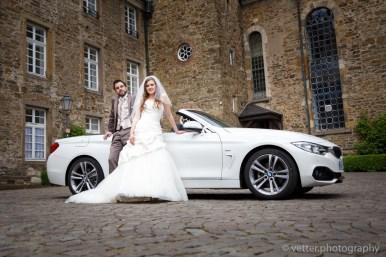 Hochzeit auf Schloss Hückeswagen