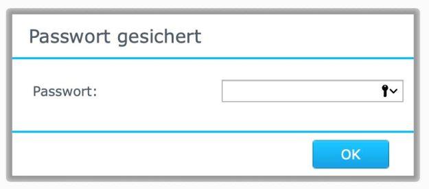 2. Passwort eingeben