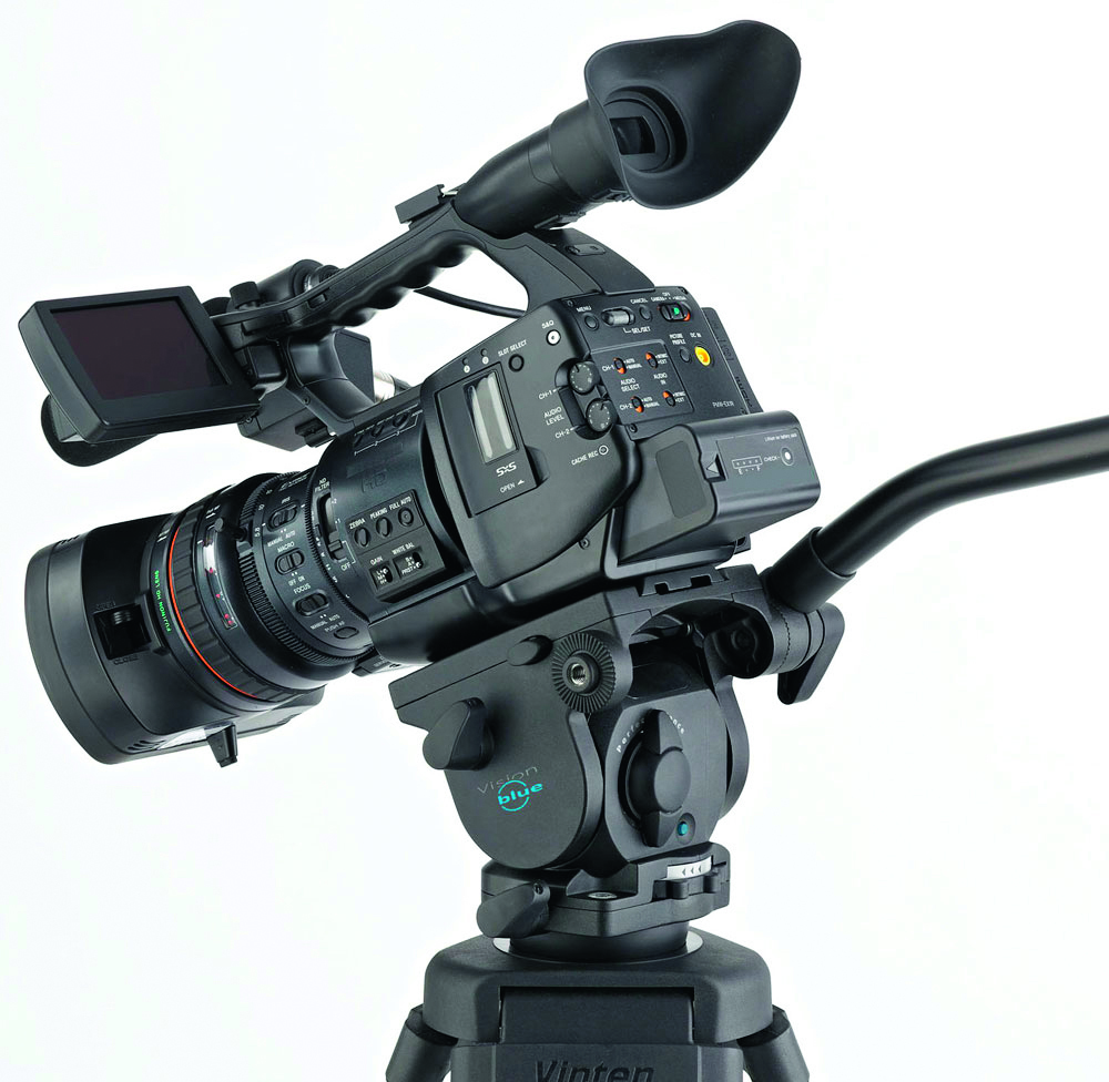 professional-video-camera-on-tripod