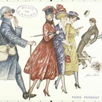 1914-1918, CULTURES DE GUERRE. Femmes, sexe et genre.