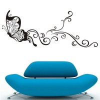 Large Butterfly Wall Stickers Decal Removable Art Vinyl ...