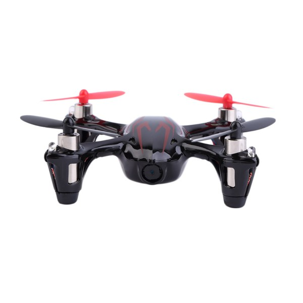 Hubsan X4 H107c 2.4g 4ch Rc Quadcopter With Camera Gyro Drone Black & Red Qt