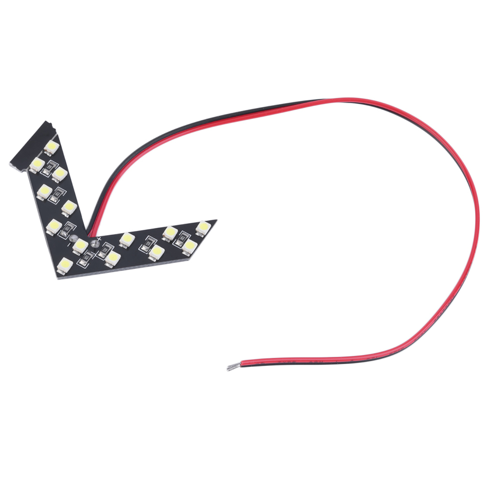 1x 14SMD LED Arrow Panel For Car Rear View Mirror