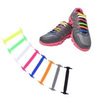 Easy Sneaker 16 Pcs Shoelaces Elastic Shoe Laces New No ...