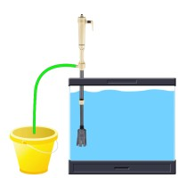 New Electric Siphon Vacuum Cleaner Water Filter Pump for ...