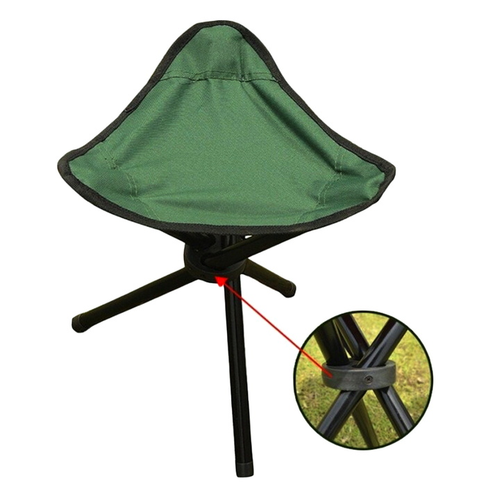 Folding Portable Travel ChairStool For Outdoor Camping