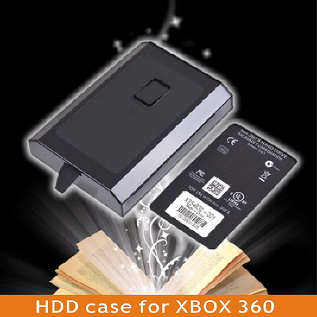 Hard Disk Drive HDD Internal Case Shell For XBOX 360 Slim