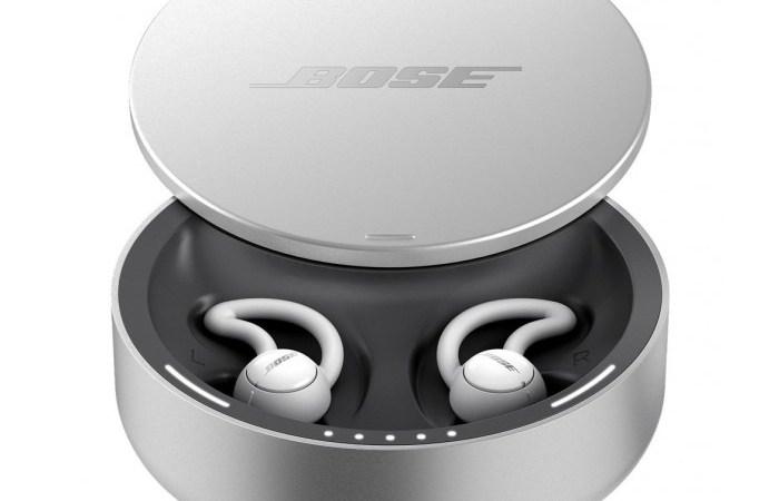 سماعات الأذن لإلغاء الضوضاء أثناء النوم من BOSE