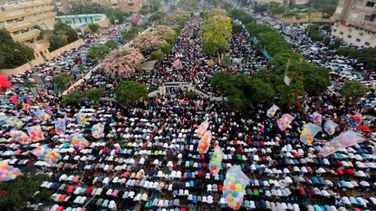 موعد صلاة العيد في القاهرة