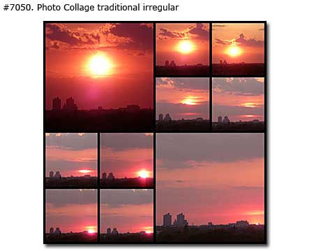 Custom Landscape CollageNature Photo Montage