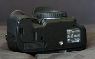 Nikon D600 unten