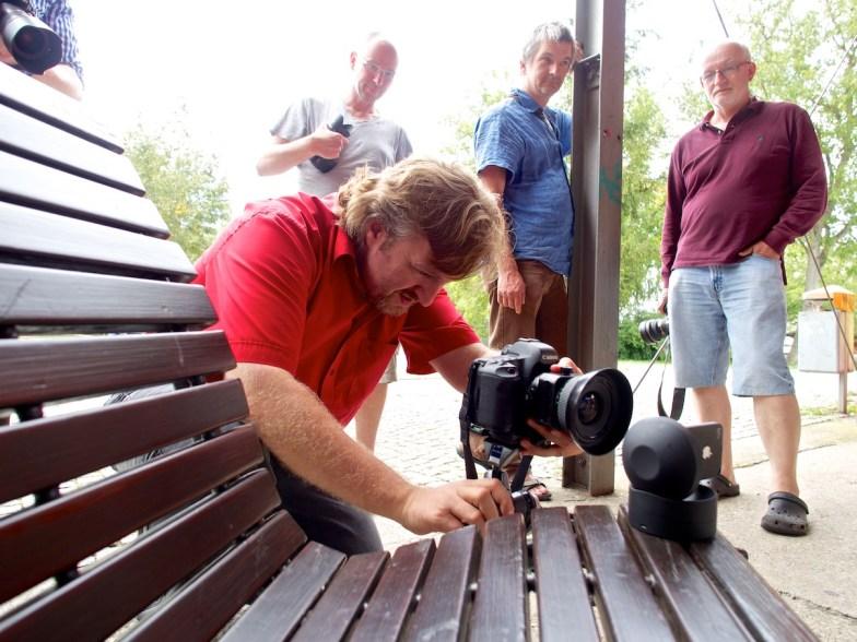 Making of Gruppenbild