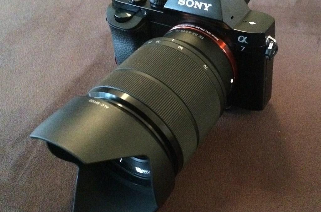 Ich hab´s getan – Sony A7