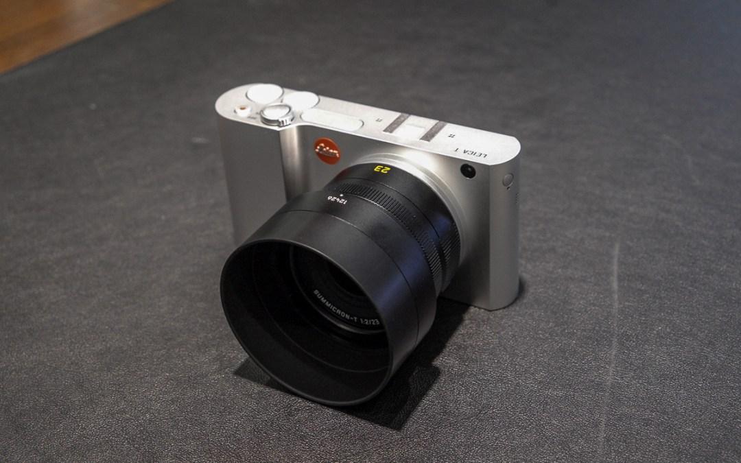 Ich habe mir die Leica T …