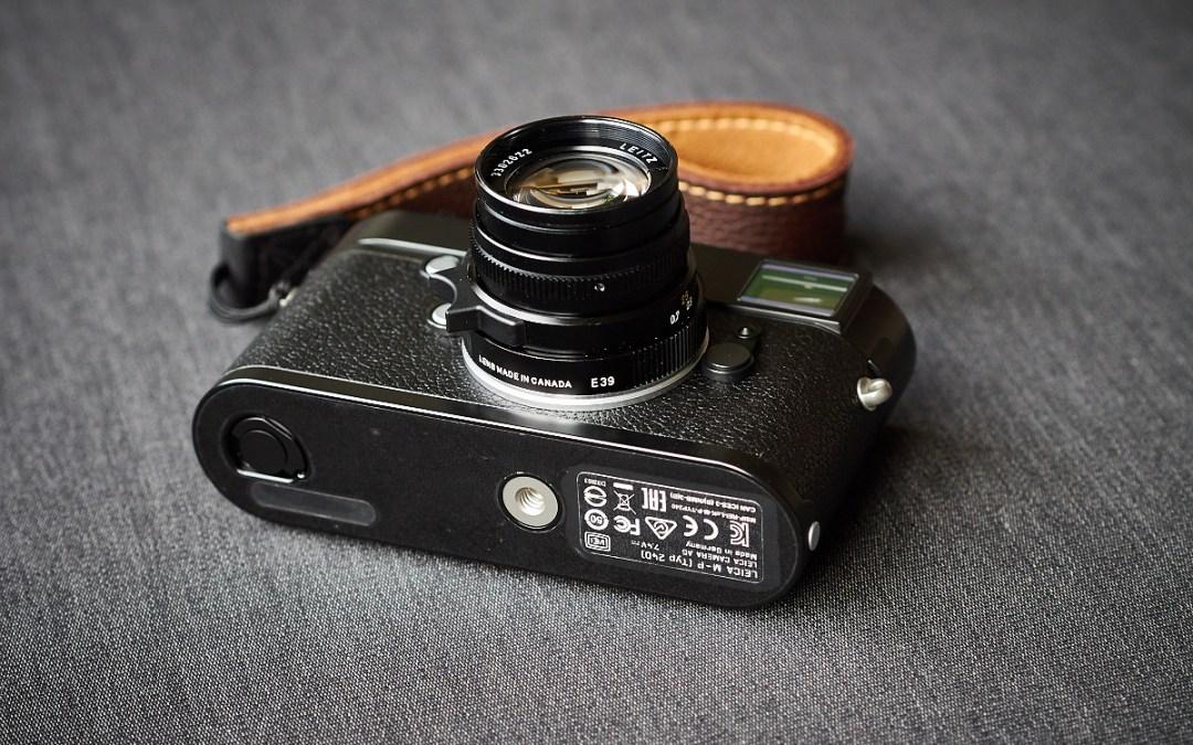 Die Leica im Urlaub