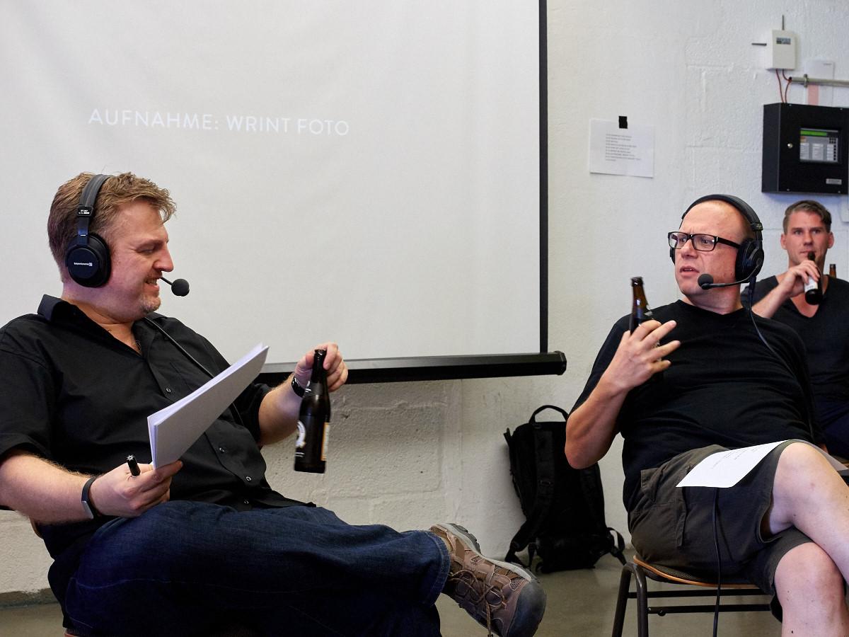 Podcast Aufnahme