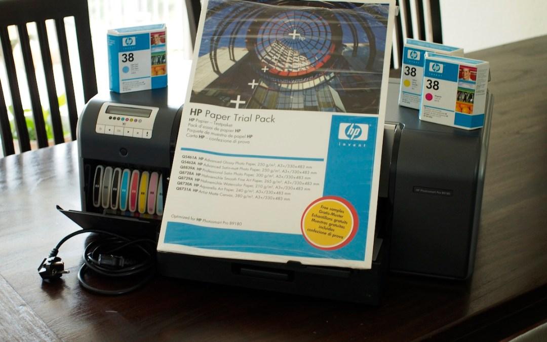 Verkaufe HP Photosmart B9180 (ist verkauft)