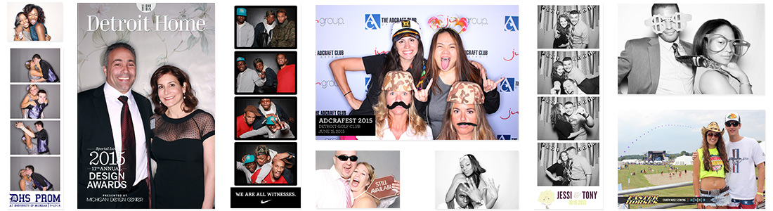 Photo booth rental photos